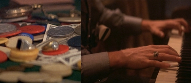The rings of Tombstone, including the two won/stolen by Doc during the poker game and the diamond ring he wears occasionally.