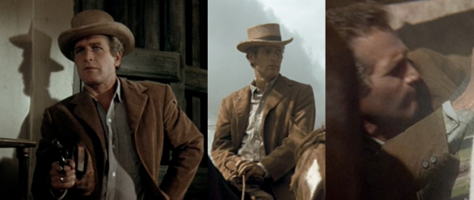 Butch in various states of action.