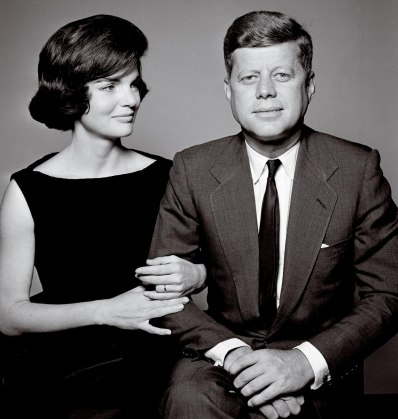 Despite any trouble behind closed doors, the Kennedys radiated class when in the public eye. This portrait by Richard Avedon, taken at the Kennedy home in Palm Beach weeks before the family moved into the White House, is from a legendary session that shows just how different this family would be from previous administrations.