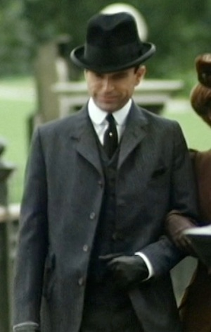 Sam Neill as Sidney Reilly in the first episode of Reilly: Ace of Spies.
