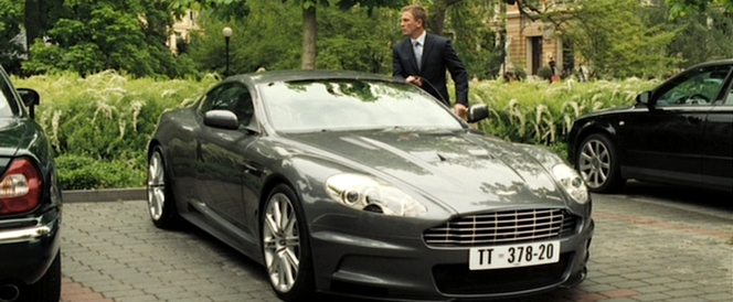 So Bond's company sends him to a casino for work, gives him an unlimited expensive account (mostly used for booze), and issues him a V12 Aston Martin... and he still tries to quit by the end of the movie? Gimme a break!