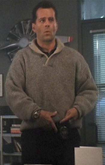 Bruce Willis as John McClane in Die Hard 2.