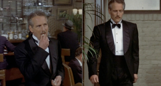 With that warm but casual smirk, Newman had to know he was the classiest guy in the room. (And he'd been in a lot of rooms.)