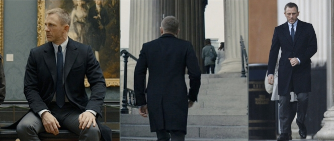 Bond, appreciating fine art.