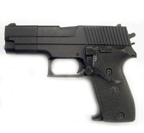An ISS non gun designed to resemble a SIG-Sauer P226.