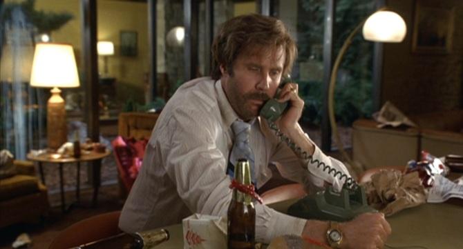 Despite being a broken man, Ron still has his classy watch.