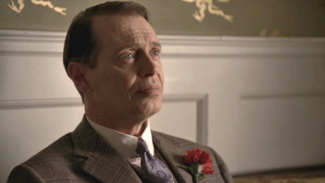 More power to Nucky for still looking so put-together, especially at the end of the night.