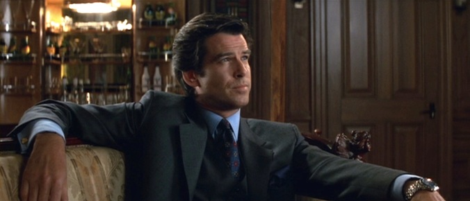Christ, Pierce Brosnan looks like he was born wearing a suit.