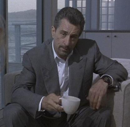 Robert De Niro as Neil McCauley in Heat (1995).