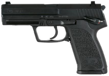 The Heckler & Koch USP9, handgun of choice for Neil McCauley.