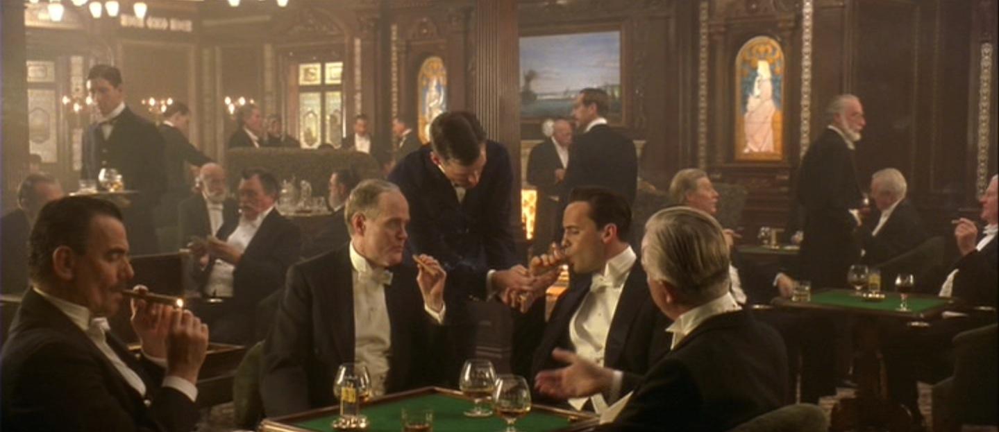 Titanic Billy Zane S White Tie Bamf Style