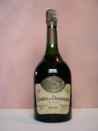 A 1959 bottle of Taittinger.