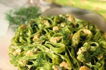 Tagliatelli Verdi, Bond's favorite pasta dish.