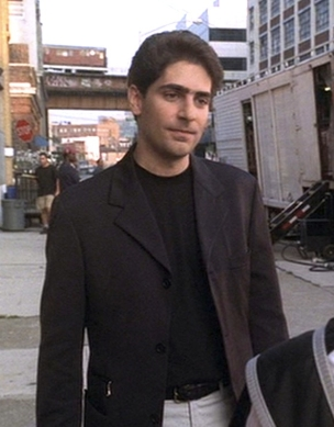"Michael Imperioli as Christopher Moltisani in ""D-Girl"", Episode 2.07 of The Sopranos (2000)."