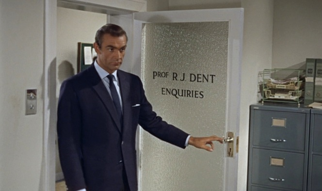 Bond evidently found the right place to make some enquiries.