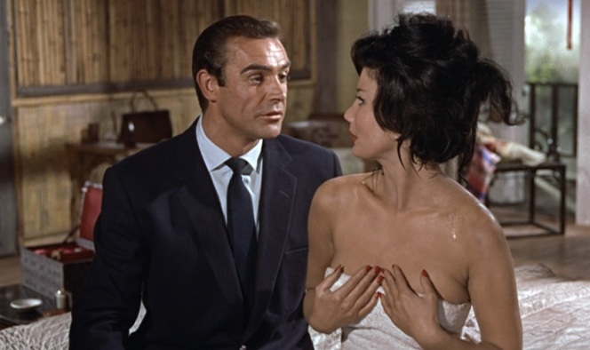 Bond's methods of seduction don't exactly endear him to feminists.