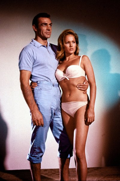 Of course, if you manage to get with a 1962 version of a bikini-clad Ursula Andress, who really cares what you're wearing?