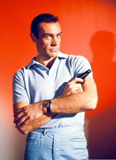 One of many promotional photos taken by Sean Connery for the film.