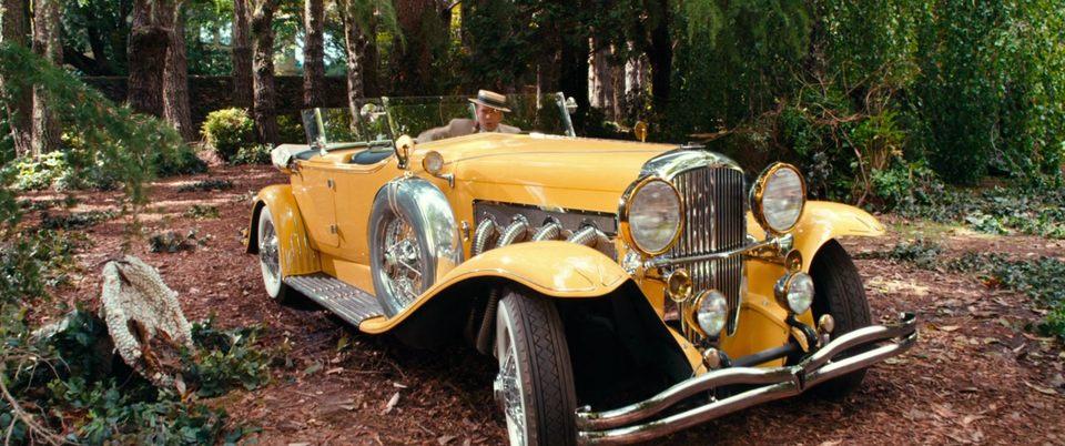 Gatsby Car: Gatsby's Caramel Suit And Yellow Duesenberg (2013 Version