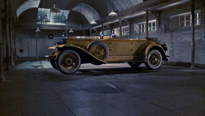Gatsby Car: Jay Gatsby's Brown Suit And Yellow Rolls-Royce (1974