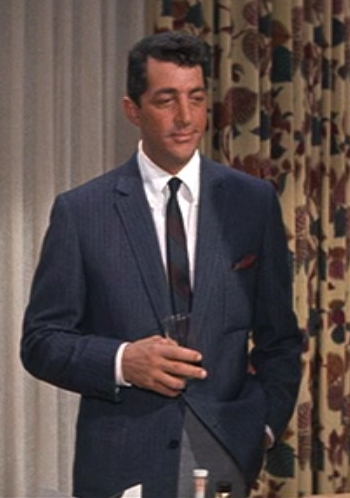 Dean Martin as Sam Harmon in Ocean's Eleven (1960).