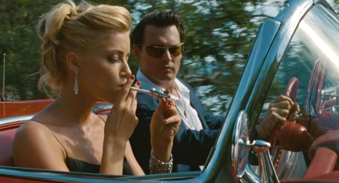 And it absolutely makes sense why Johnny Depp would have started dating Amber Heard immediately after this film wrapped.