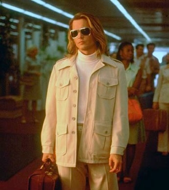 Johnny Depp as George Jung in Blow (2001), from New Line Cinema.