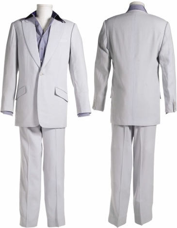 The exact suit worn by Pitt in the film, sold by Heritage Auctions in April 2007.