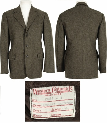 Sundance's suitcoat as seen on Heritage Auctions' site.