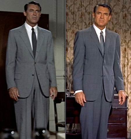 Note the differences in the details and the cut of each suit, indicating just how much men's fashion changed over four short years.
