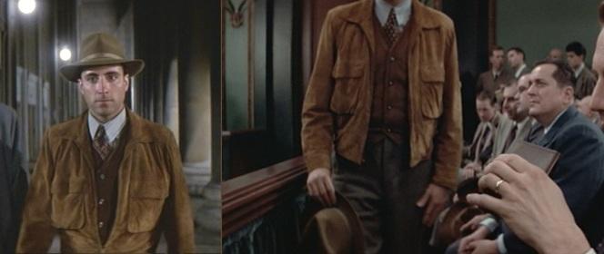 Stone's jacket.