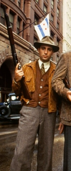 Andy Garcia as George Stone in The Untouchables (1987).