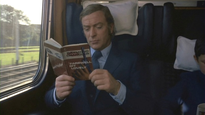 In addition to his fine choice of reading material, note Carter's button cuffs, not seen after his first night in Newcastle.