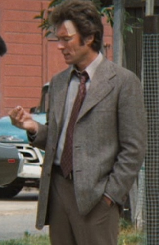 """Clint Eastwood as Inspector """"Dirty Harry"""" Callahan in Magnum Force (1973)."""