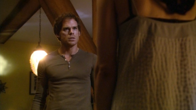 Dexter confronts Lila.