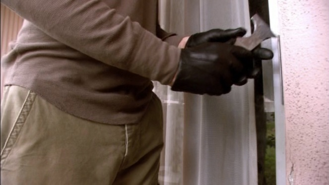 This shot of Dexter's Cabretta gloves also shows off other details like the shirt's curved hem and the reinforced button fly of the cargo pants.
