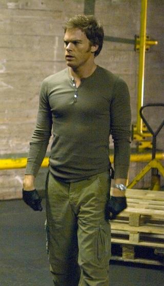 "Michael C. Hall as Dexter Morgan in ""Waiting to Exhale"", episode 2.02 of Dexter."