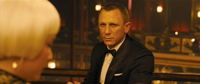 Daniel Craig impregnates the audience.