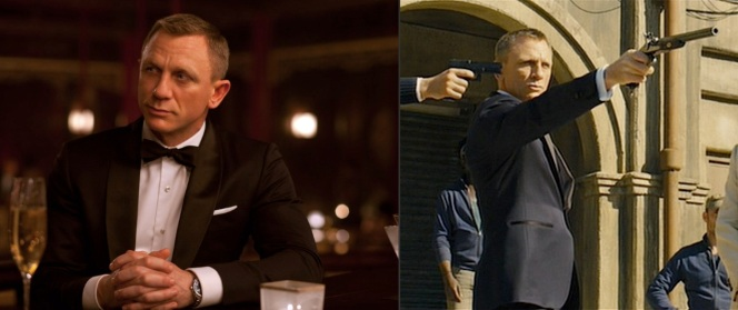Little did Bond know that the beautiful woman he was flirting with over drinks would soon be in his sights during a Scotch-fueled dueling match the next day - ah, you know what, he probably knew.