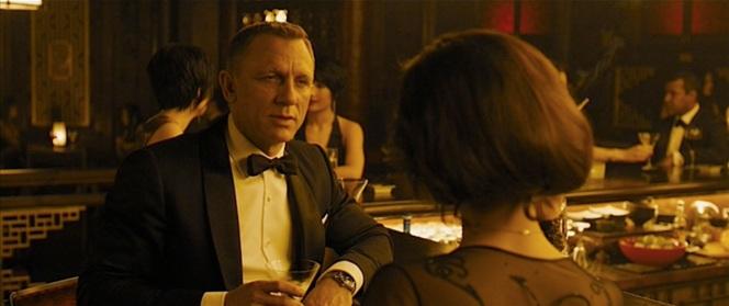 Bond shakes and stirs Sévérine. (Ugh, I hate puns.)