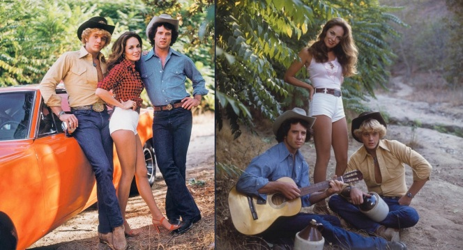 Cowboy hats, guitars, moonshine, and an unpainted General Lee. Obviously, the show hadn't found its direction yet.