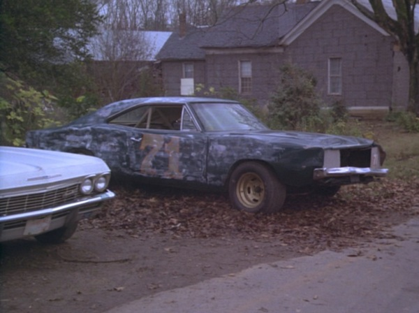 "LEE1, post-jump and repurposed as an old Richard Petty racer, in ""Repo Men"" (Episode 1.04)."