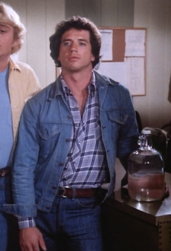 "Tom Wopat as Luke Dukes in ""High Octane"", Episode 1.05 of The Dukes of Hazzard."