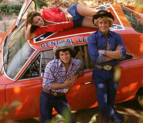 "Very early in the show's life as none of the characters are wearing clothing that would appear on the show - save for Luke's shirt. The General Lee is also missing its ""01"" numbers and - holy shit! - the passenger door is open."