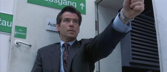 Seriously, Brosnan's Bond dresses better for warehouse infiltrations than I do for weddings.