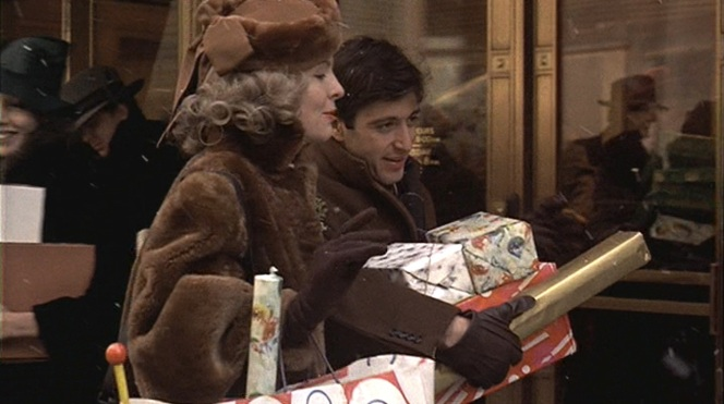 Wouldn't it be easier for Michael to just put all those gifts in a bag?