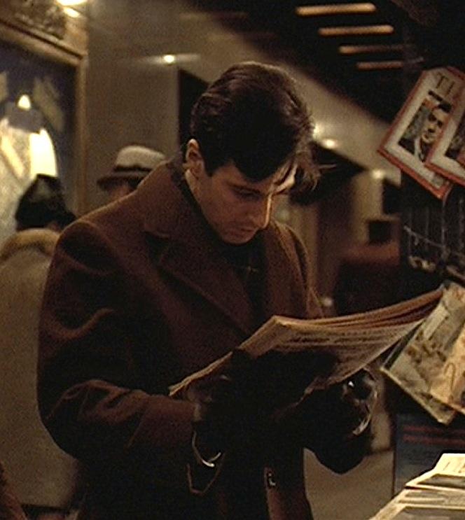 Michael Corleone's Shopping Attire in The Godfather | BAMF ...