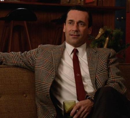 """Jon Hamm as Don Draper in """"The Doorway, Part 2"""" (Episode 6.02 of Mad Men)."""