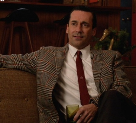 "Jon Hamm as Don Draper in ""The Doorway, Part 2"" (Episode 6.02 of Mad Men)."