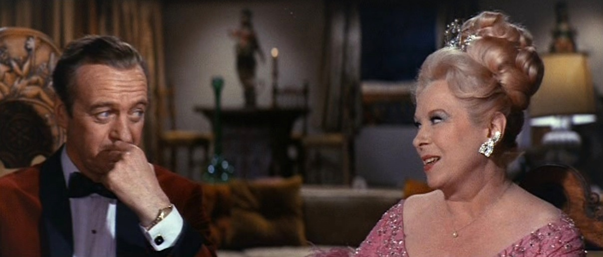 7e564277152b David Niven's Red Velvet Dinner Jacket in The Pink Panther | BAMF Style